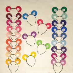 1 Headband Teddy Bear Theme Ears Headbands birthday party favors supplies costume hat care carebear pink blue red green group Halloween by PartyEars on Etsy https://www.etsy.com/listing/243503222/1-headband-teddy-bear-theme-ears