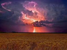 Canadian prairie storm