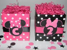 Minnie Mouse Centerpiece Base minnie-mouse-birthday-finley