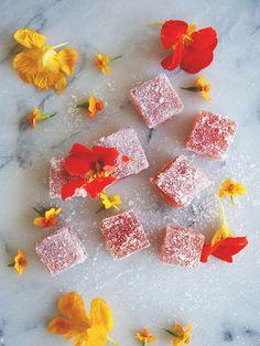 Strawberry Nasturtium Jellies {yum!}