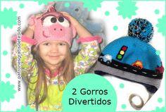 como tejer gorros para niños en forma fácil y creativa