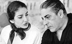 Η Μαρία Κάλλας αγαπήθηκε και αγάπησε και αναμφίβολα κατάφερε να κατακτήσει την κορυφή. Εκεί κάπου συνάντησε και τον Αριστοτέλη Ωνάση όπως γράφει και στο ερωτικό γράμμα που θέλησε να του αποστείλει πριν από πολλά χρόνια. Maria Callas, Aristotle Onassis, Greek Music, True Love, Past, Che Guevara, Mens Sunglasses, Comics, Couple Photos