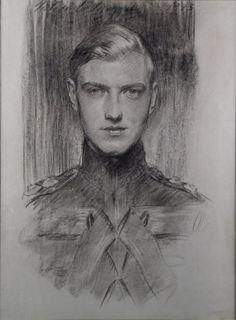 Sketch by John Singer Sargent, ca. 1890-1923.