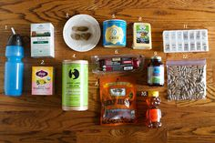 Real Food Packing: What I packed when traveling out of the country while pregnant. #wapf