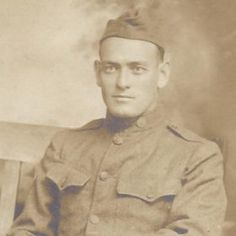 """Joseph Orwell """"Orrie"""" Bullman. 1889-1972. WWI Army Sgt. Joseph was married to my 4th Cousin 5x Removed on the Platt side. Photo from ancestry.com"""