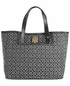 Tommy Hilfiger Handbag, Signature Jacquard Shopper