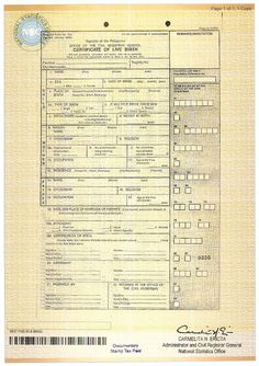 Obamas kenyan birth certificate revealed places to visit document number on birth certificate yadclub Gallery