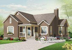 Plan de maison no. W3133 de dessinsdrummond.com