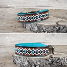 """Indian Eye"" Dog Collar by Wilder-Collars"