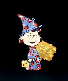 Peanuts Lucy in Witch Costume Lighted Halloween Window Decoration ** Click image to review more details.