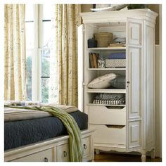 Grace Armoire --two of these for the living/dining area?