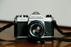 Vintage Pentax K-1000 by MicroscopeTelescope on Etsy