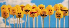 Lego of My Head Cake Pops