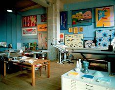 blue studio / workspace