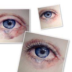 глаз,акварель,watercolor