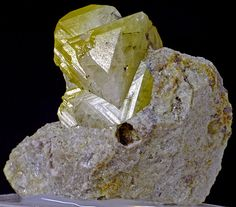 Lustrous, well-formed Rhodizite from Antsongombato, Manapa, Madagascar