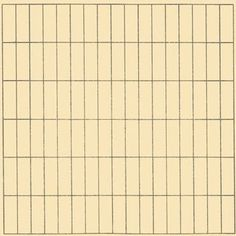 """ON A CLEAR DAY Agnes Martin 1973 Agnes Martin quote """"It wasn't till I found the grid, in New York in 1960, that I felt satisfied with what I was doing. When I first made a grid I happened to be thinking of the innocence of trees, and I thought the grid represented innocence, and I still do. So I painted it, and I've been doing it for thirty years.""""  #art #AgnesMartin #abstractexpressionism #artist #paintings #artists #modernart #contemporaryart #gallery #drawings #artgallery #artwork #grid…"""