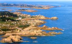 The pink granite coast is one of the most beautiful stretches of coastal scenery in Europe. It runs along the North coast of Brittany from Lannion to Paimpol. A must visit if you are planning a holiday or a short break to Brittany in France