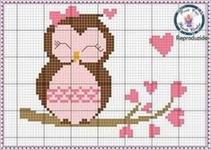 Thrilling Designing Your Own Cross Stitch Embroidery Patterns Ideas. Exhilarating Designing Your Own Cross Stitch Embroidery Patterns Ideas. Cross Stitch Owl, Cross Stitch For Kids, Cross Stitch Animals, Cross Stitch Charts, Cross Stitch Designs, Cross Stitching, Cross Stitch Patterns, Diy Embroidery, Cross Stitch Embroidery