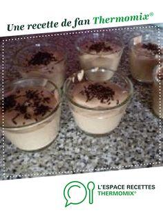 Mousse mascarpone au chocolat par genny38. Une recette de fan à retrouver dans la catégorie Desserts & Confiseries sur www.espace-recettes.fr, de Thermomix<sup>®</sup>.