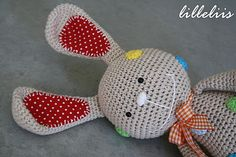 lilleliis - world full of amigurumi and cuteness : Kommi-jänes Lalla