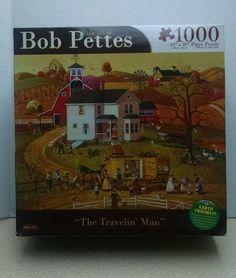 Karmin 1000 Piece Jigsaw Puzzle  Bob Pettes The Travelin Man (Brand New)