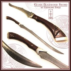 Fantasy Sword, Fantasy Weapons, Fantasy Blade, Swords And Daggers, Knives And Swords, Sword Design, Cosplay Weapons, Dragons, Concept Weapons
