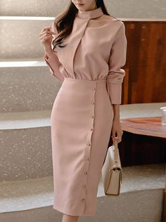 Mock Neck Fake Two Piece Bodycon Dress 2016 New Arrival Summer Style Dresses Women Long Sleeve Dress Casual Party Dress Vestidos Feminino Party Dress Vestidos Plus Size Evening Gown Slim Dress Elegant Evening Gowns 2016 New Arrival Formal Party Gowns Dresses For Teens, Modest Dresses, Trendy Dresses, Tight Dresses, Nice Dresses, Casual Dresses, Dresses For Work, Sheath Dresses, Simple Dresses