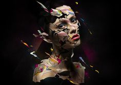 50 Creative Photoshop Photo Manipulation works by Alberto Seveso - Faneks Creative Photoshop, Photoshop Photos, Photoshop Photography, Creative Photography, National Geographic, Graffiti, Street Art, Design Graphique, Face Art