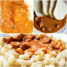 Kurací Paprikáš s Haluškami Recepty Našej Mamy Macaroni And Cheese, Ethnic Recipes, Food, Red Peppers, Mac And Cheese, Essen, Meals, Yemek, Eten
