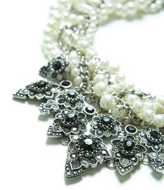 ZARA - WOMAN - PEARLS AND CHAINS NECKLACE