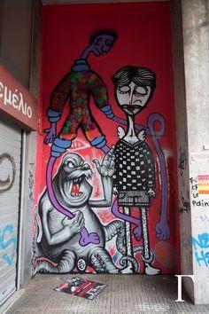 Artists: Cacaorocks, Sonke & WD in Athens, Greece