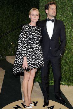 Oscars 2013 Diane Kruger in einem Kleid von Giambattista Valli, Pumps von Christian Louboutin, Schmuck von Neil Lane und Uhr von Jaeger-LeCoultre