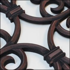 Faux Iron grill Copper finish Home Interior Design, Copper, Iron, Leather, Jewelry, Jewlery, Jewels, Jewerly, Jewelery