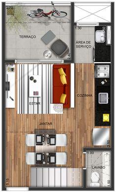 Layout - duplex 2 - térreo