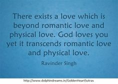 There exists a love...