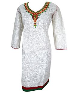 Indian Tunic Tops, White Tunic Tops, Cotton Tunics, Cotton Dresses, Swimsuit Cover, Indian Fashion, Kurti, Bohemian Style, Engagement