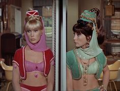 Recap Retro: I Dream of Jeannie Jeannie or the Tiger Barbara Eden, I Dream Of Jeannie, Old Tv Shows, Vintage Tv, Belly Dancers, Classic Tv, Star Wars, Classic Hollywood, Favorite Tv Shows