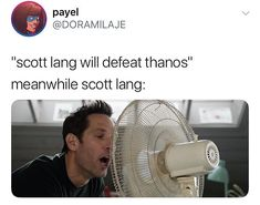 I will take none of this slander against our god™️ Scott Lang