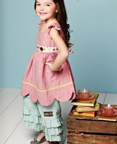 Matilda Jane/Serendipity Line...this will be my daughter's Easter outfit this year.  LOVE it!
