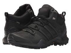 e0eb9a548 adidas Outdoor Terrex Swift R2 Mid GTX(r) Men s Climbing Shoes Black Black