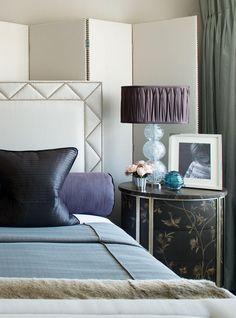 Belgravia Townhouse Apartment - Master Bedroom - Interior Design by Intarya – Interior Design by Intarya