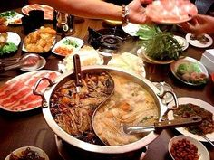 Chinese or Tawainese Hot Pot.