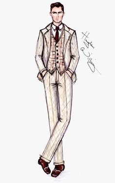 #Hayden Williams Fashion Illustrations  #The Great Gatsby collection by Hayden Williams pt3