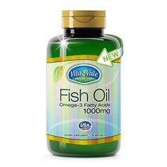 FISH OIL 120 CÁPSULAS: VITAMINAS