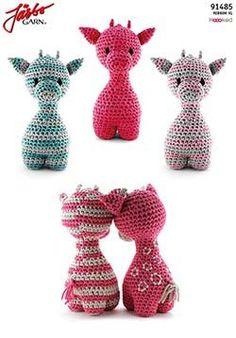 Giraffen Ziggy - Best Image Giraffe In The Word Crochet Patterns Amigurumi, Crochet Toys, Free Crochet, Crochet Baby, Knit Crochet, Giraffe Crochet, Crochet Animals, Giraffe Toy, Crochet Keychain