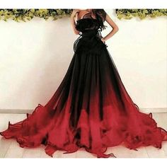 151 gothic wedding dresses challenging traditions page 26 Evening Dresses, Prom Dresses, Formal Dresses, Bridesmaid Dresses, Casual Dresses, Black Wedding Dresses, Halloween Wedding Dresses, Ombre Wedding Dress, Black Red Wedding