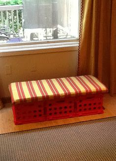 No-Sew Easy Window Seat.