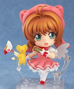Sakura Kinomoto mit Kero-chan (Cardcaptor Sakura) Nendoroid-Actionfigur 10cm GoodSmileCompany