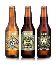 #beerpackaging  Had the Jaguar in Oaxaca...delicious as well as gorgeous.